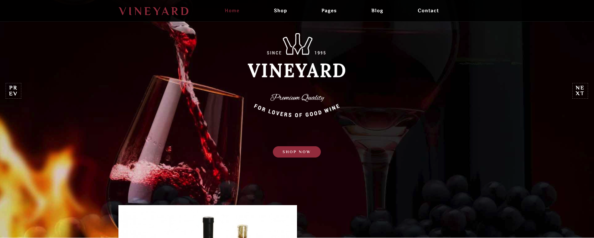 Vineyard WordPress Theme Review