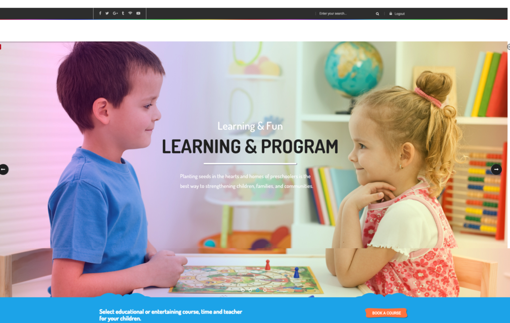 Preschool Wordpress Theme - Premium WordPress Theme