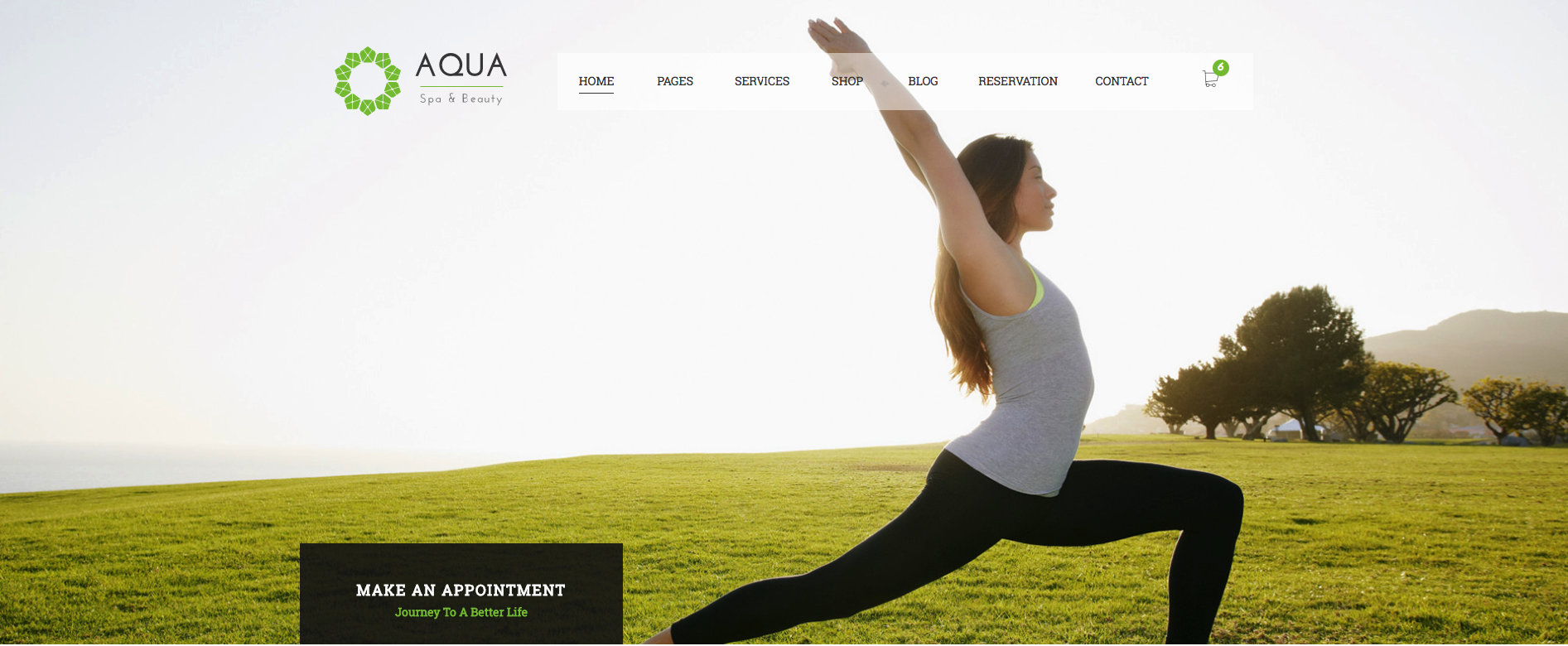 Best Spa, Yoga and Beauty WordPress Theme 2018