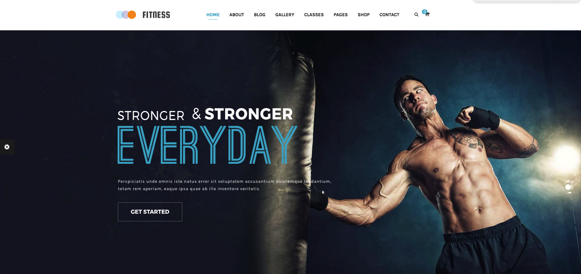 Fitness – Gym & Yoga WordPress Review Theme