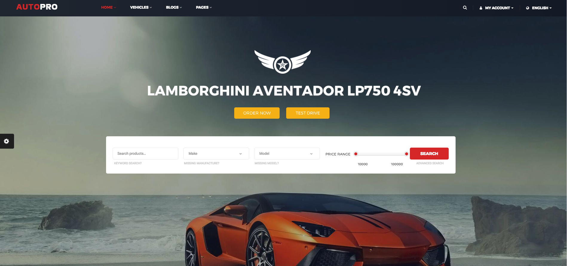 Professional and Responsive Car Dealer WordPress Themes For Automotive Websites 2018
