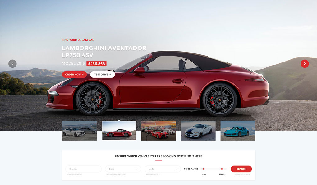 Car Dealer WordPress Theme Review