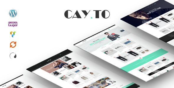 Cayto – The Best WooCommerce Responsive WordPress Theme