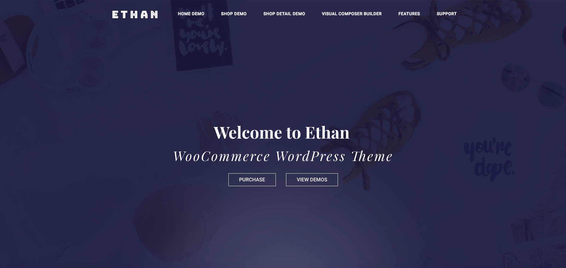 Ethan – Responsive WooCommerce WordPress Theme