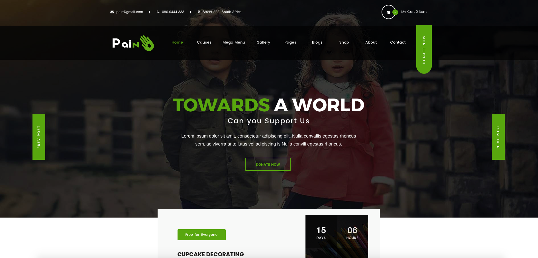 Best WordPress Theme for For Non-Profit, Charity and Fundraising Organizations 2018