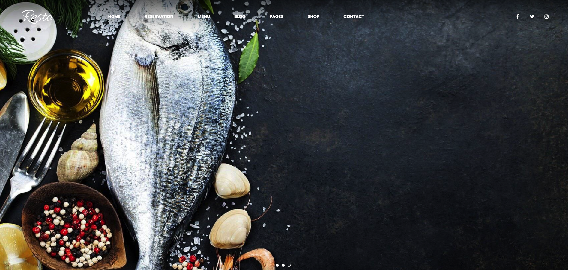 Resto- Multipurpose Restaurant & Cafe WordPress Theme