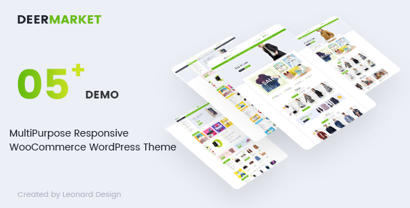 DeerMarket – Multipurpose Responsive WooCommerce WordPress Theme