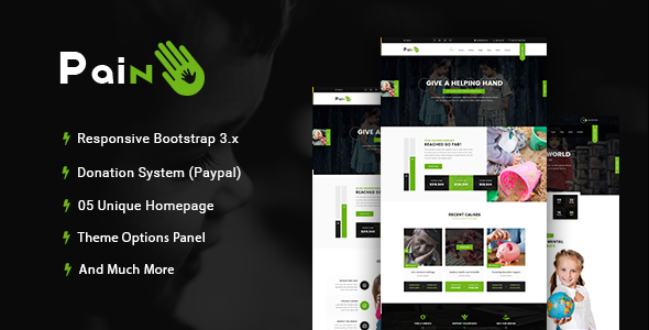 Charity WordPress Theme 2018