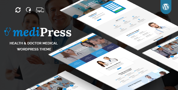 mediPress – Health and Doctor Medical WordPress Theme