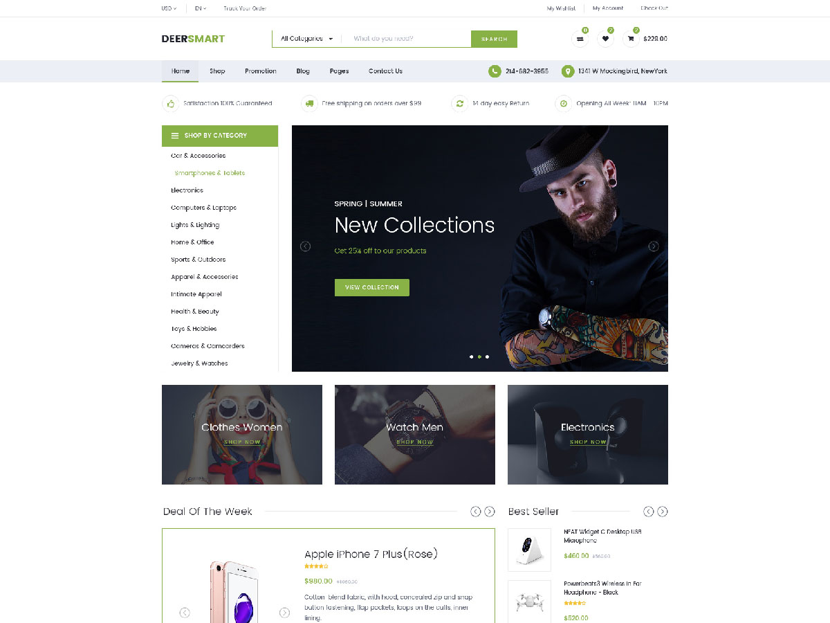 Multipurpose Responsive WooCommerce WordPress Theme