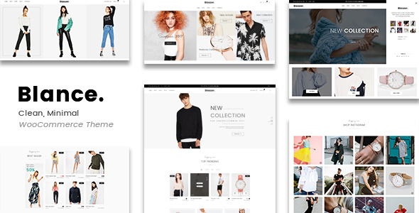 Blance – Clean, Minimal WooCommerce WordPress Theme