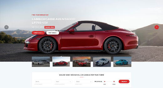 Car Dealership WordPress Theme 2018