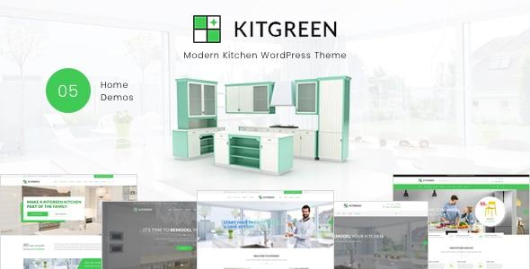 KitGreen – Modern Kitchen WordPress Theme