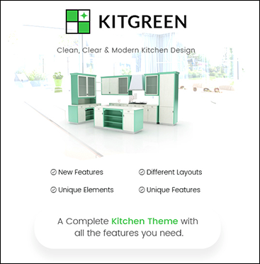 KitGreen WordPress Theme