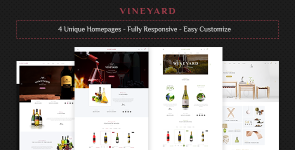 The Best Wine WordPress Theme 2018