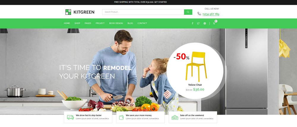 KitGreen Homepage Option.2