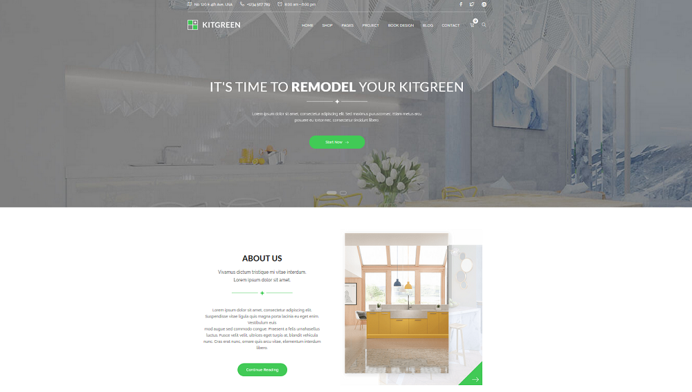 KitGreen Homepage Option