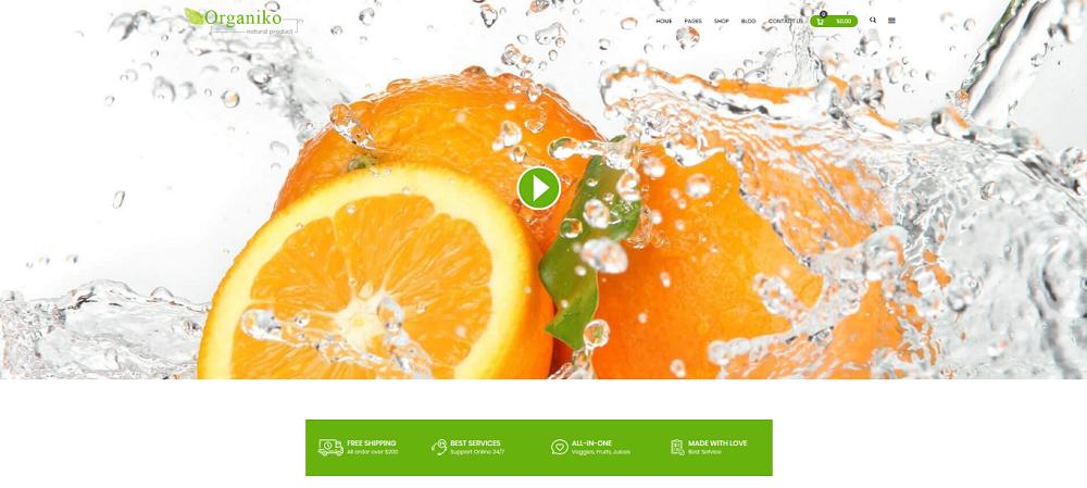 Organiko Homepage 5
