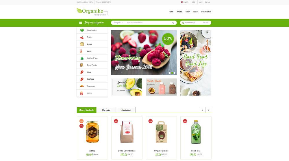 Organiko Homepage 6