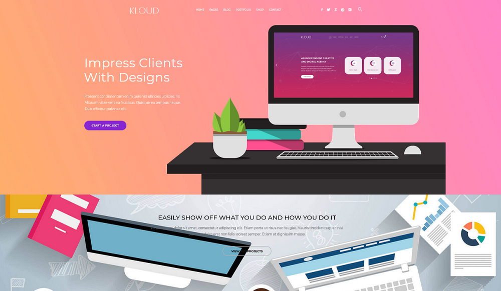Kloud Review: A Unique Perspective on the Creative Design Agency Website
