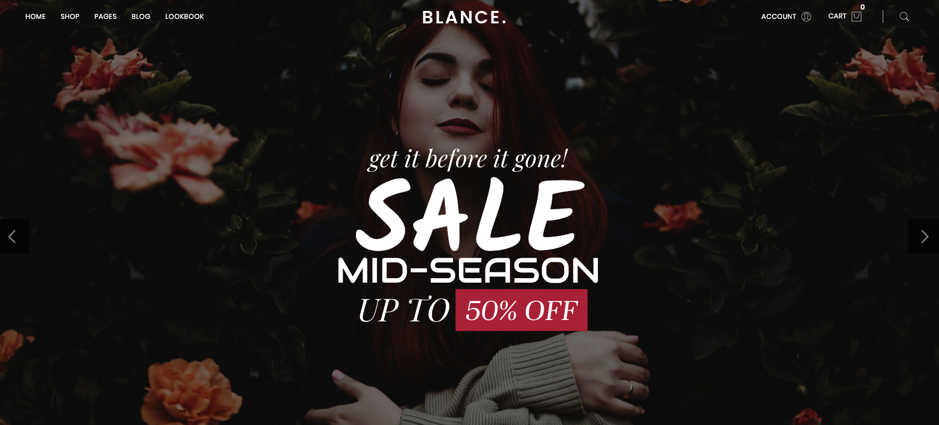 Blance 2.0.1: A Best Minimal WooCommerce Theme Designed to Sell 2019