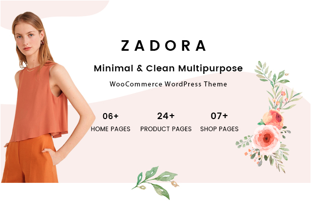 Zadora – Clean, Minimal WooCommerce WordPress Theme