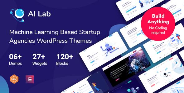 AI Lab – Machine Learning WordPress Theme