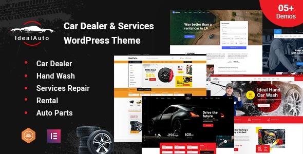 Premium Automotive WordPress Theme