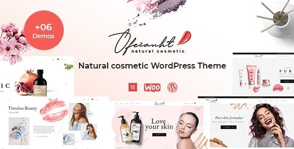 Ofeianht – Natural Cosmetics WordPress Theme